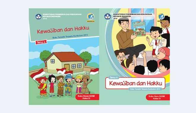 Buku Tema Kelas 3 Tema 4
