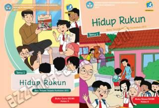 Buku Tematik Kelas 2 Tema 1 Hidup Rukun
