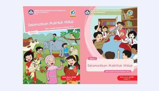 Buku Tematik Kelas 6 Tema 1