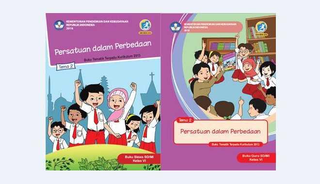 Buku Tematik Kelas 6 Tema 2