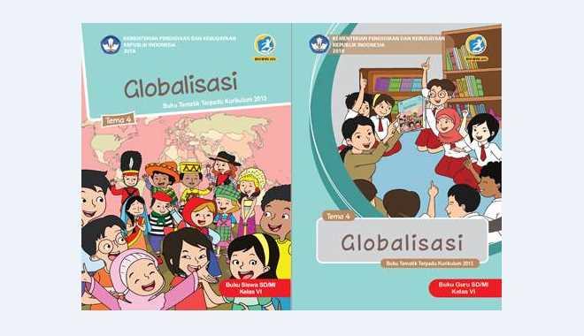 Buku Tematik Kelas 6 Tema 4