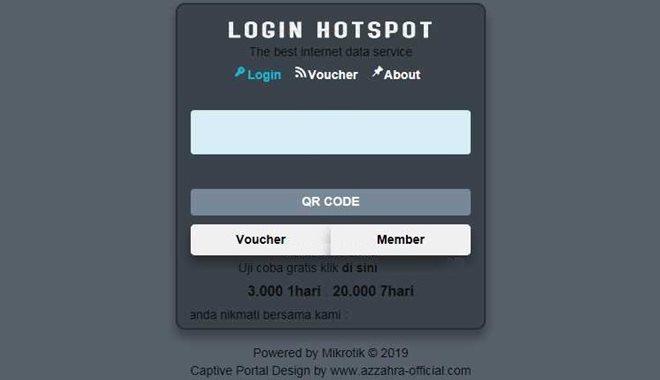 Download Template Login Hotspot Mikrotik Keren