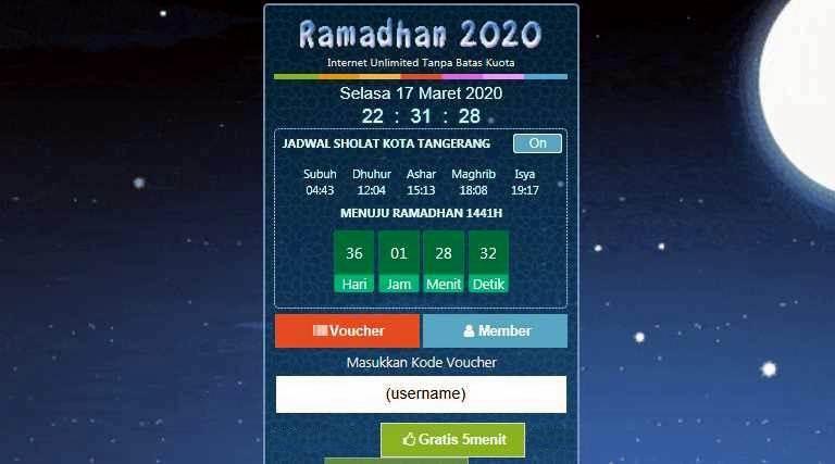 Download Template Login Hotspot Ramadhan 2020