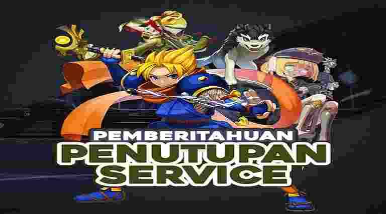 Penutupan Service Lost saga